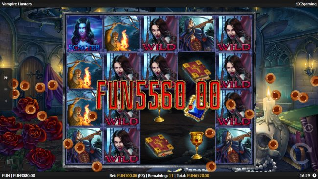 Multiple winning combinations leads to a big win by Free Slots 247