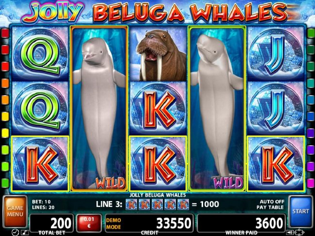 Images of Jolly Beluga Whales