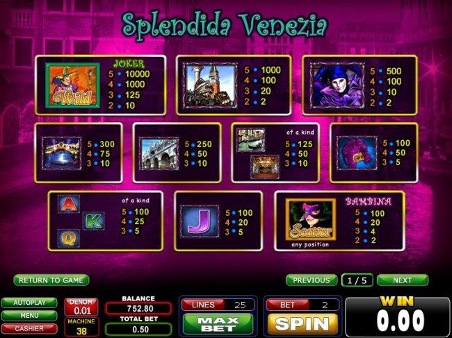 Splendida Venezia screenshot
