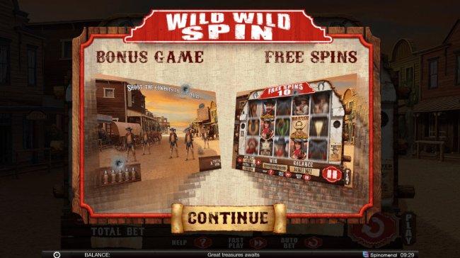 Wild Wild Spin screenshot