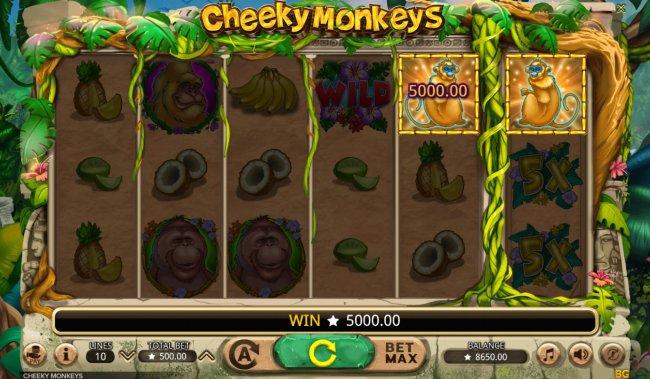 Free Slots 247 image of Cheeky Monkeys