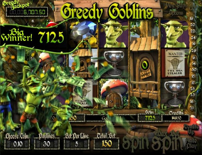 Free Slots 247 image of Greedy Goblins