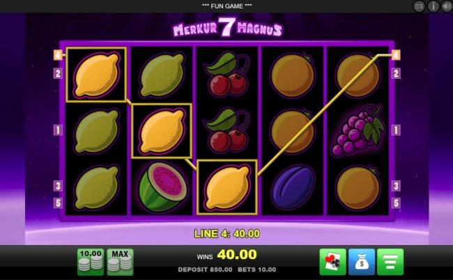 Merkur Magnus 7 Slot Machine