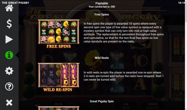 Feature Rules by Free Slots 247