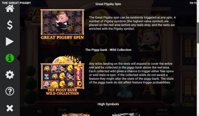 Free Slots 247 image of The Great Pigsby