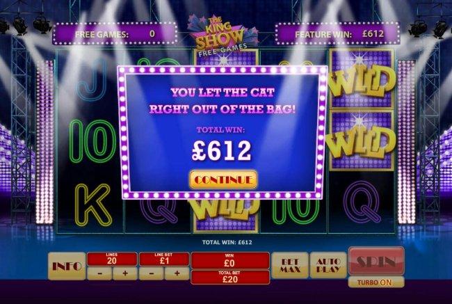 Free Slots 247 image of Cat in Vegas