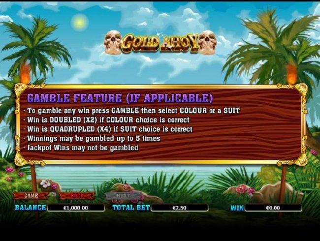 Gold Ahoy screenshot