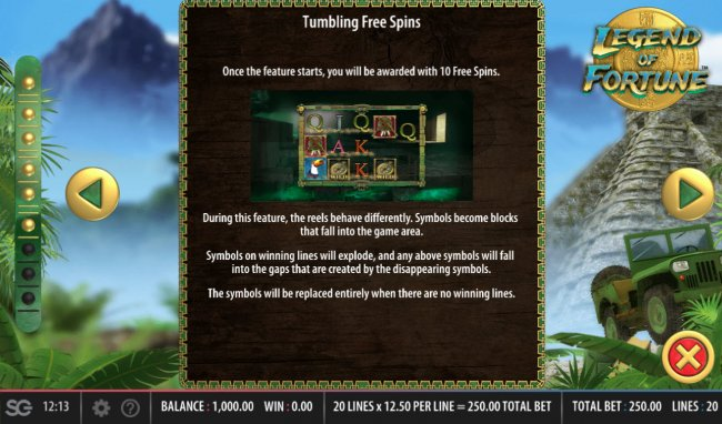 Legend of Fortune screenshot