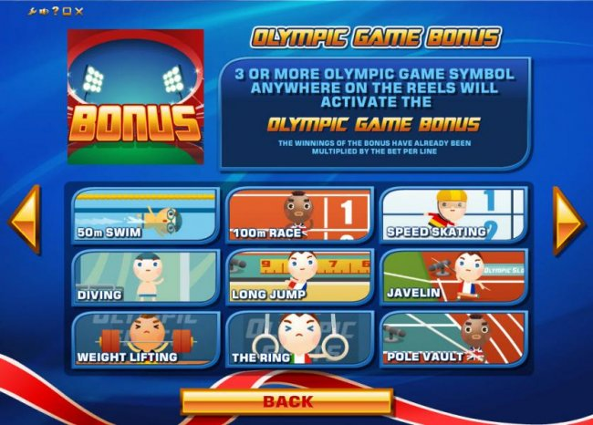 Images of The Olympic Slots