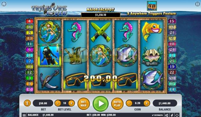 Treasure Diver by Free Slots 247