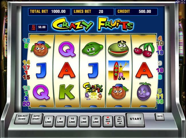 Crazy Fruits by Free Slots 247
