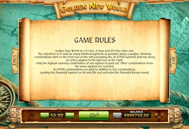 Free Slots 247 image of Golden New World