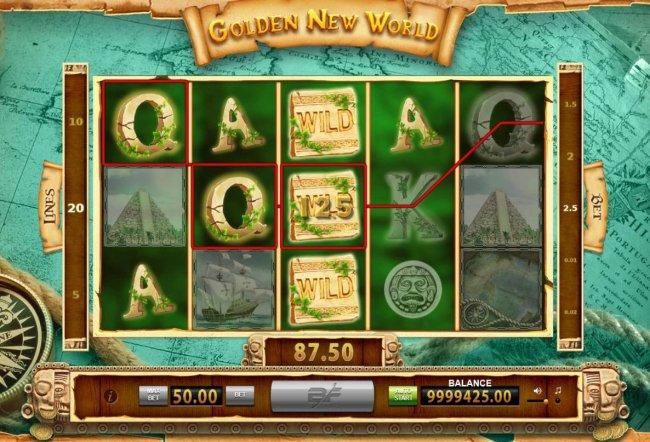 Golden New World screenshot