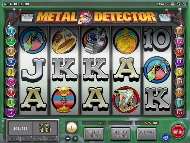 Free Slots 247 image of Metal Detector