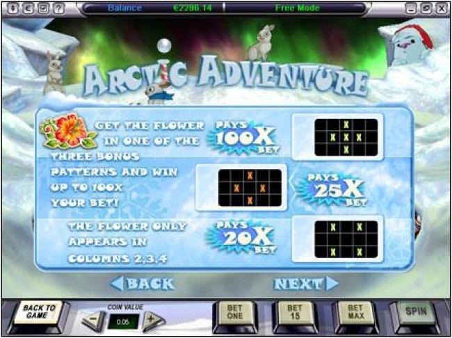 Arctic Adventure screenshot