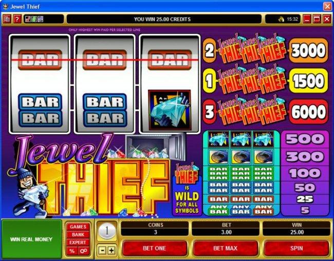 Jewel Thief by Free Slots 247