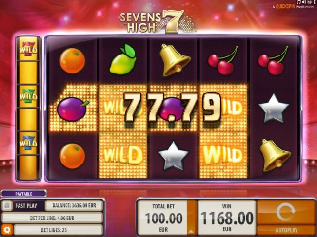 Sevens High by Free Slots 247