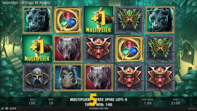 Earn extra free spins for every scatter symbols that lands on the reels during the Free Spins feature. - Free Slots 247