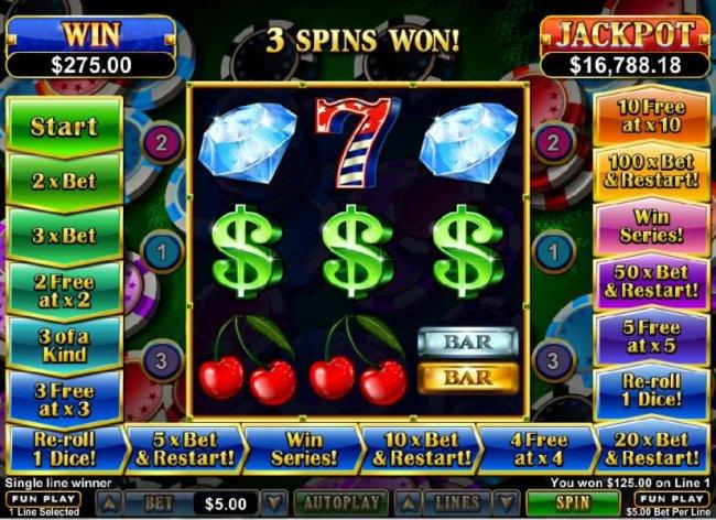 Free Slots 247 - 3 spins won