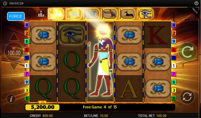 Images of Eye of Horus Gambler