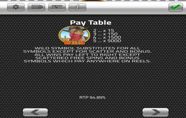 High Noon Saloon screenshot