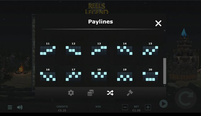 Paylines 11-20 by Free Slots 247