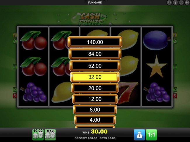 Ladder Gamble Feature Game Board by Free Slots 247