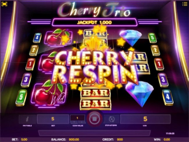 Cherry Respins - Free Slots 247