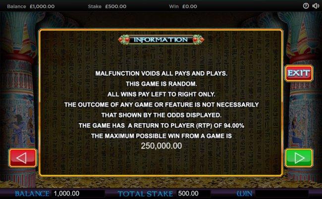 Free Slots 247 image of Pharaoh's Wild