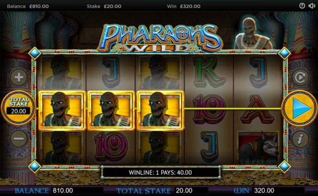Pharaoh's Wild screenshot