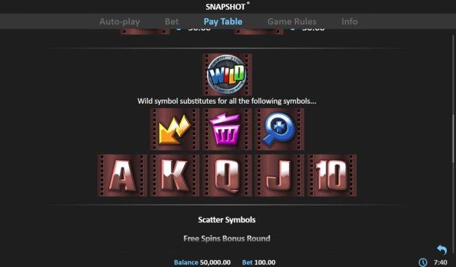 Snapshot screenshot