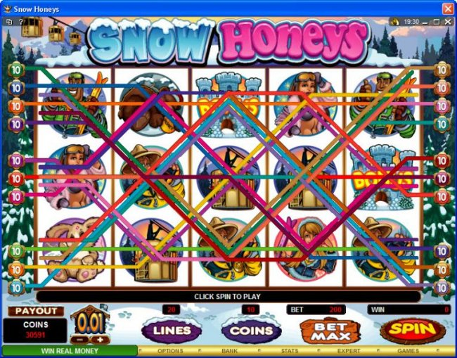 Free Slots 247 image of Snow Honeys
