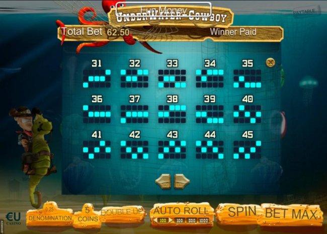Payline Diagrams 31-45 - Free Slots 247