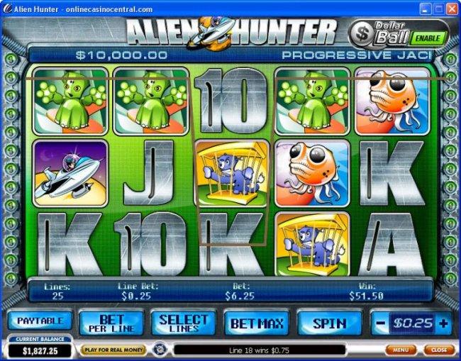 Alien Hunter screenshot