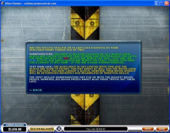 Free Slots 247 image of Alien Hunter