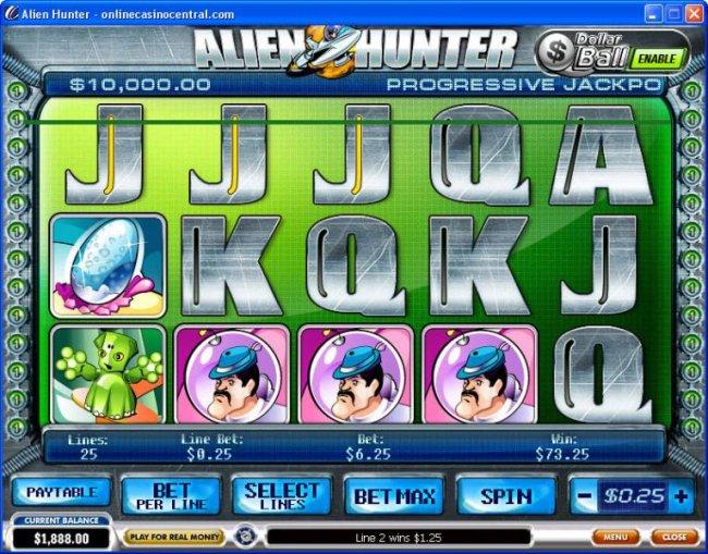 Alien Hunter by Free Slots 247