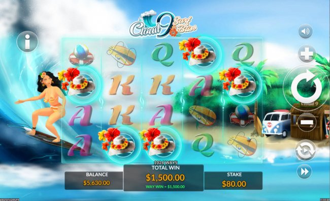 Cloud 9 Surf Bliss screenshot