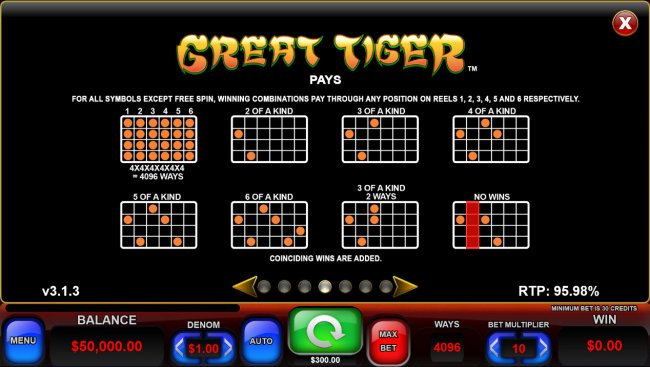 Free Slots 247 - All Ways 4096