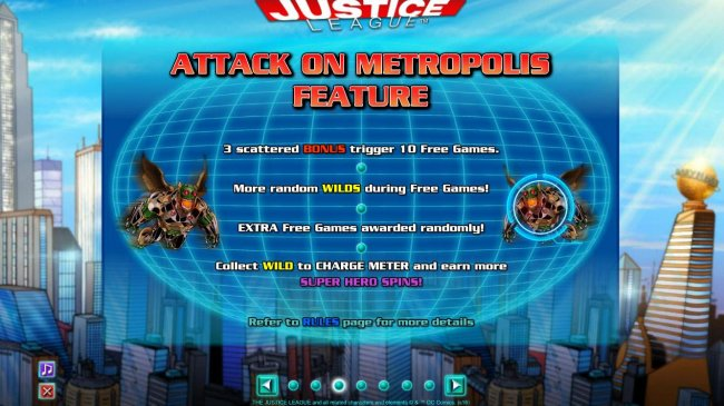 Free Slots 247 image of Justice League