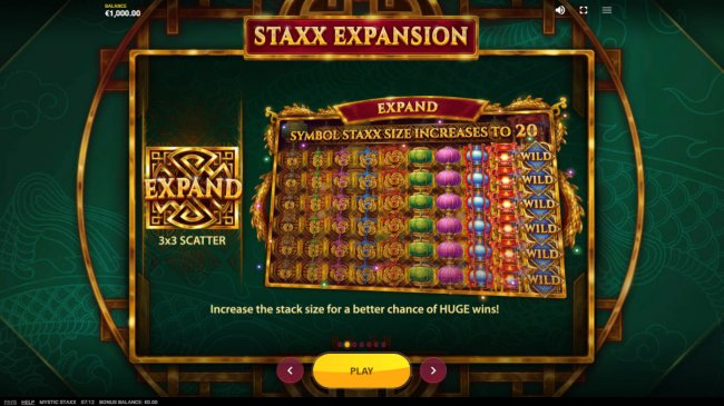 Mystic Staxx screenshot