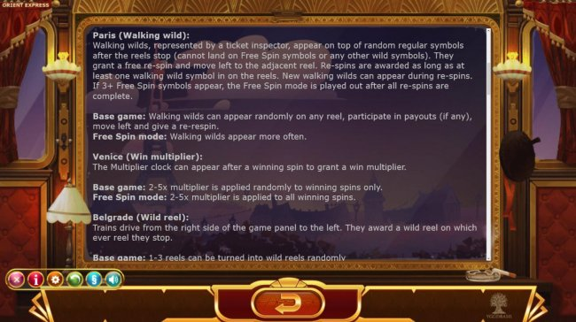 Paris, Venice and Belgrade Mode Rules by Free Slots 247