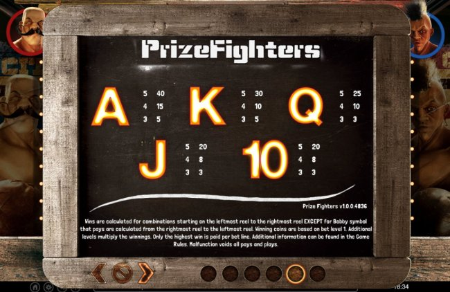 Free Slots 247 image of Prize Fighters