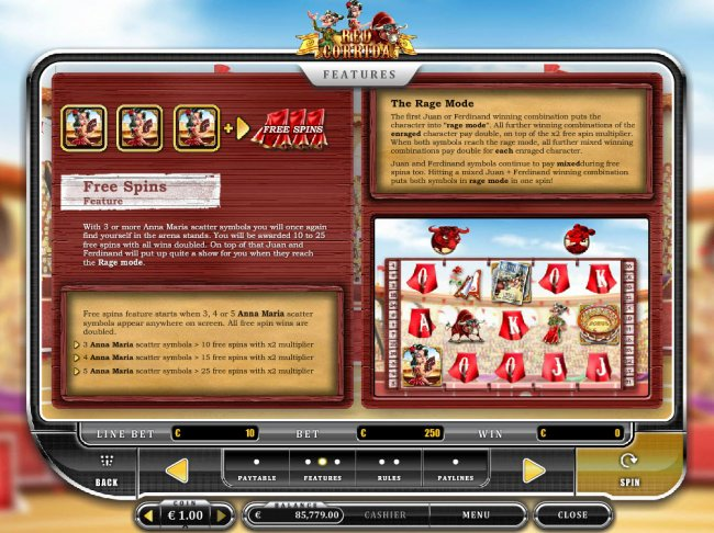 Free Spins Feature Rules by Free Slots 247