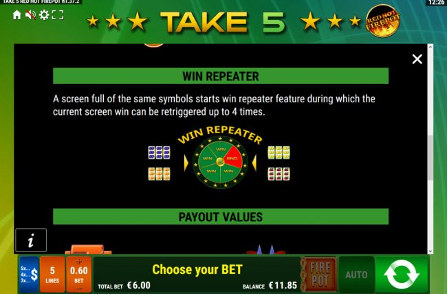 Free Slots 247 - Win Repeater Rules