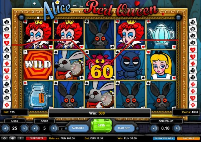 Casino Bonus Lister image of Alice and the Red Queen