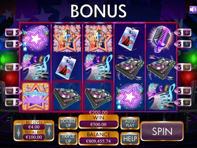 Three wild symbols triggers the bonus pick feature. - Free Slots 247