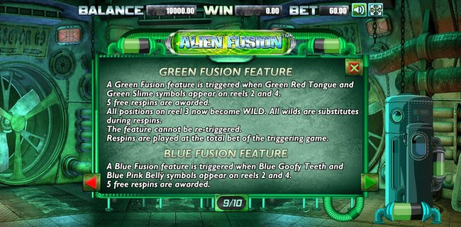 Free Slots 247 image of Alien Fusion