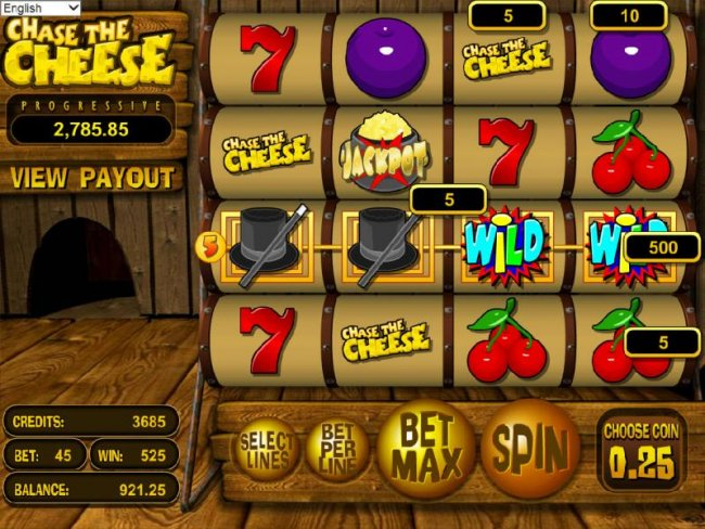 Chase the Cheese by Free Slots 247