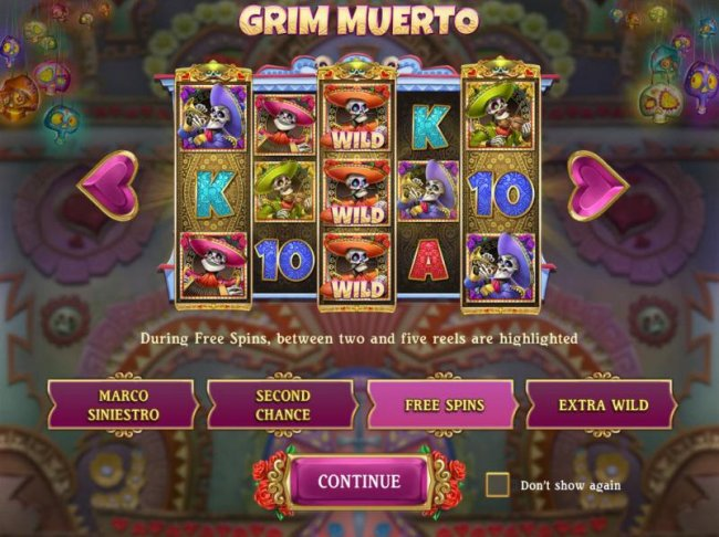 Free Spins - Durig free spins, between two and five reels are highlighted. - Free Slots 247