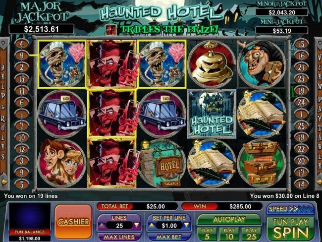 Free Slots 247 image of Haunted Hotel